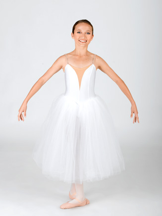 Child V Insert Classical Tutu Dress - Style No N8438C
