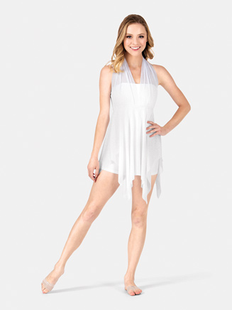 Dress With Attached Unitard - Style No N8451