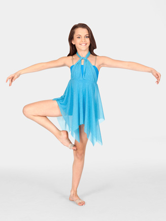 Child Dress with Attached Unitard - Style No N8451C