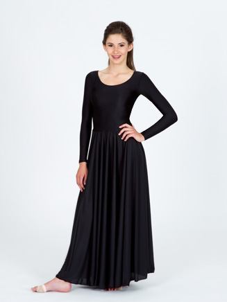 Long Sleeve Worship Dress - Style No N8555
