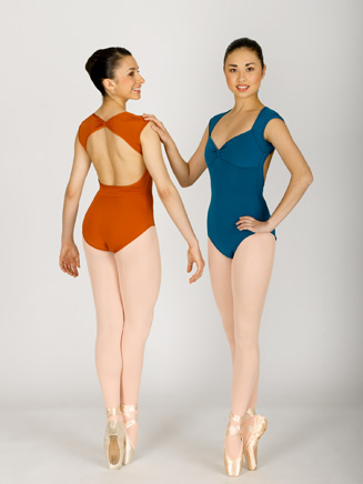 Cap Sleeve Leotard - Style No N8557