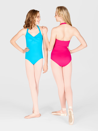 Halter Leotard With Twist Front - Style No N8561