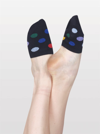 Colorful Polka Dot Spinner Socks - Style No N8577
