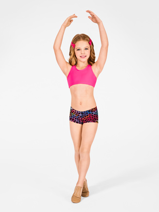 Child Printed Dance Short - Style No N8585C