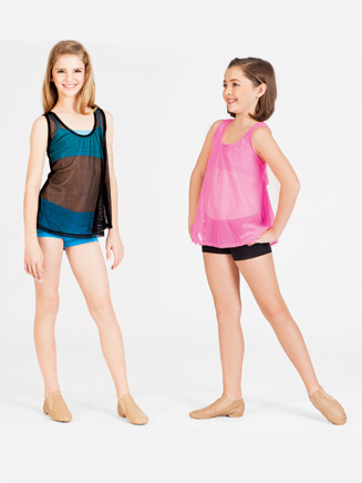 Child Power Mesh Tank Top - Style No N8661C