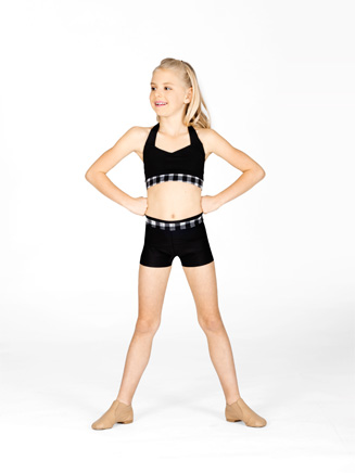 Child Plaid Waistband Short - Style No N8669C