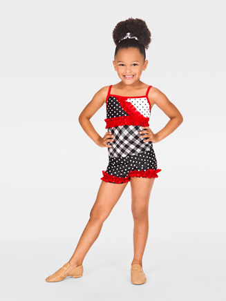 Child Dance Short with Ruffles - Style No N8690C
