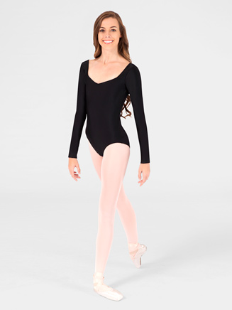 Long Sleeve Adult Sweetheart Leotard - Style No N8729