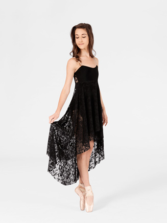 Adult High-Low Lace Camisole Dress - Style No N8736