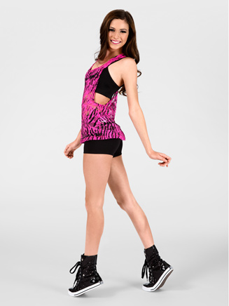 Adult Zebra Lace Tank Top - Style No N8756x