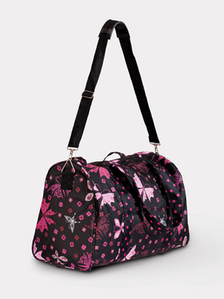 All About Dance Mid-size Butterfly Duffle Bag