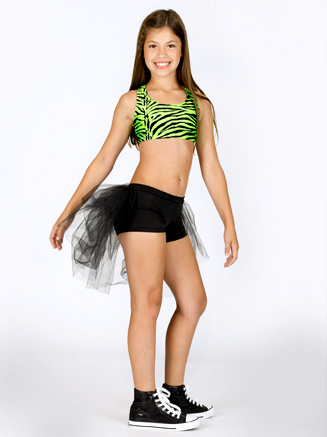 Child Zebra Racerback Bra Top - Style No NF8447C