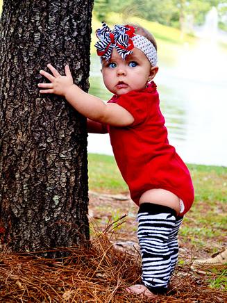 Huggalugs Baby Zebra Nubies