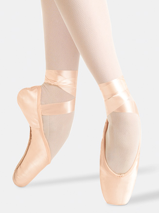 Adult Pro Quiet 2007 Pointe Shoe - Style No P2007