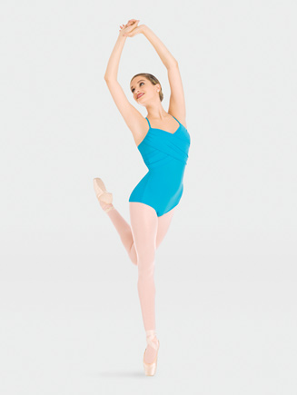 Body Wrappers Cross Over Camisole Leotard