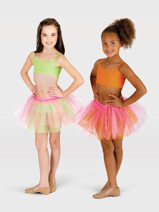 All About Dance Child Glitter Dot Tutu Skirt
