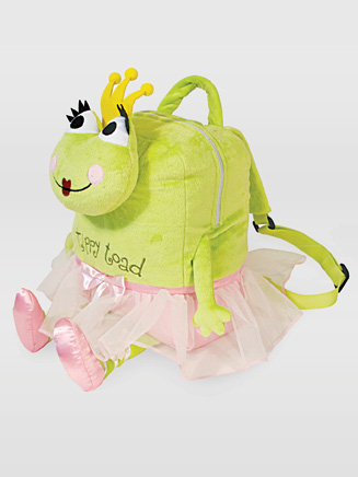 Tippy Toad Snuggle Backpack - Style No QS1010