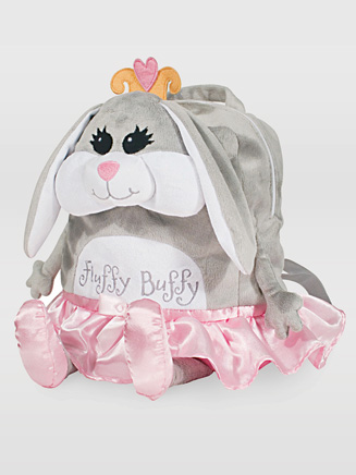 Fluffy Buffy Snuggle Backpack - Style No QS1107