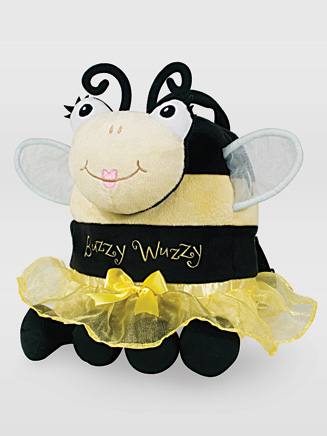 Buzzy Wuzzy Snuggle Backpack - Style No QS1122