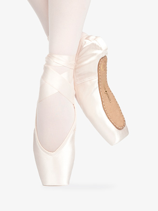 "Adult ""Rubin"" V-Cut Pointe Shoe - Style No RN"