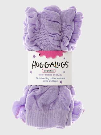 Huggalugs Lilac Kisses Legruffles