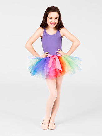 "Rainbow Tutu 9"" Tutu - Style No RWT"