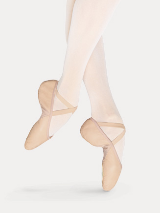 Adult Split-Sole Leather Ballet Slipper - Style No S0203L
