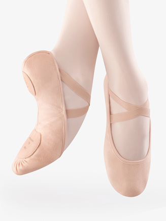 """Pro-Arch"" Adult Split-Sole Canvas Ballet Slipper - Style No S0271L"