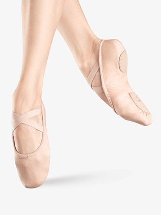 """Zenith"" Adult Split-Sole Canvas Ballet Slipper - Style No S0282L"