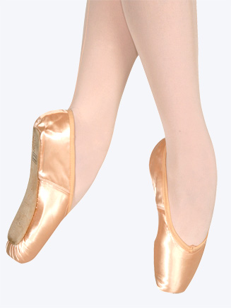Wing Block Pointe Shoe - Style No SBTWB