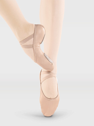 Adult Split-Sole Leather Ballet Slipper - Style No SD10