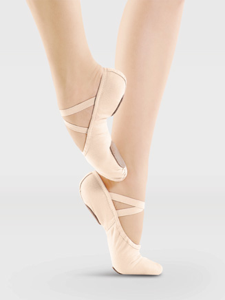 Adult Split-Sole Canvas Ballet Slipper - Style No SD11