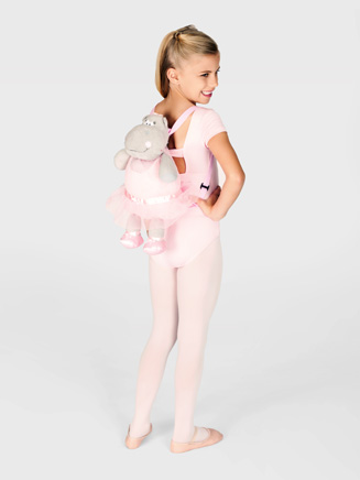 "18"" Hippo Ballerina Back Pack - Style No SJ110142"