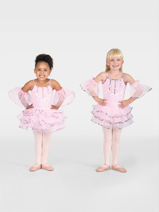 Child Camisole Tutu Dress - Style No SK585