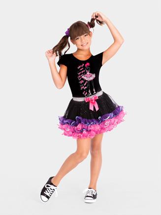 All About Dance Child Ruffle Tutu
