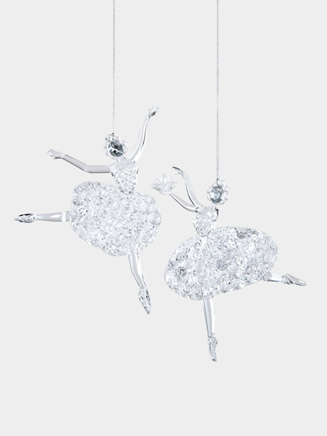 Acrylic Ballerina Ornament - Style No T1057
