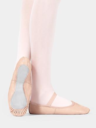 Premium Adult Full Sole Ballet Slipper - Style No T2000