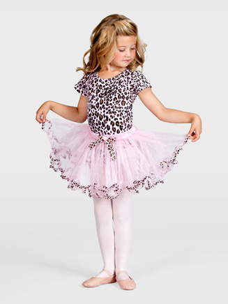 Child Animal Print Tutu - Style No T2489