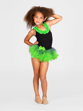 Child Zebra Sequin Tutu - Style No T2714