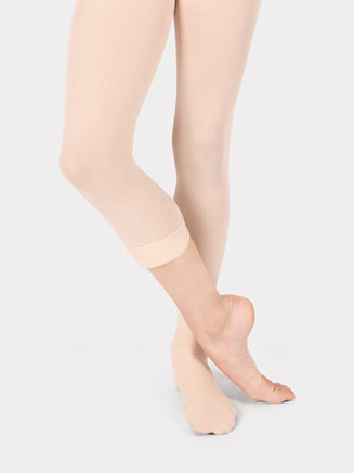 Girls Convertible Dance Tights - Style No T5500C
