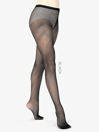 Girls Basic Footed Fishnet Dance Tights - Style No T5700C