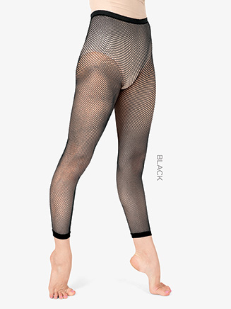 Adult Basic Footless Fishnet Dance Tights - Style No T5800