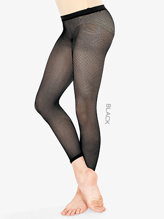 Girls Basic Footless Fishnet Dance Tights - Style No T5800C