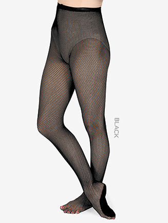 Adult Professional Footed Fishnet Dance Tight - Style No T6000