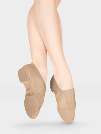 Girls Gore Top Jazz Shoe - Style No T7900C