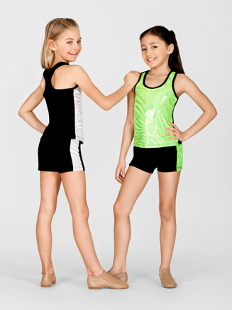 Child Metallic Tank Top - Style No TA2994