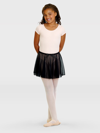 Girls Economy Short Sleeve Dance Leotard - Style No TB132C