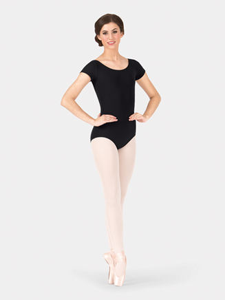 Adult Economy Short Sleeve Dance Leotard - Style No TB133