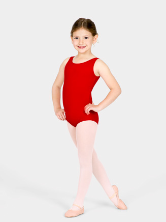 Girls Economy Tank Dance Leotard - Style No TB142C