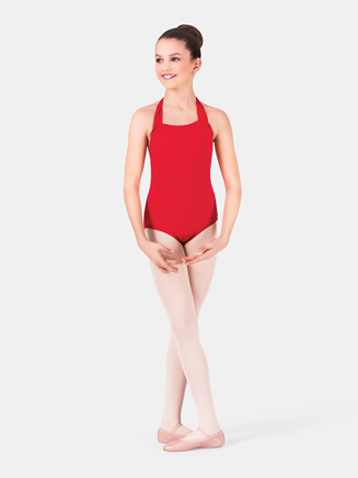 Girls Halter Dance Leotard - Style No TB150C